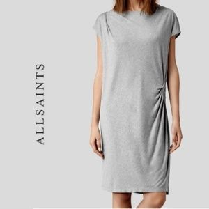 All Saints Gray Relia Dress Size 8
